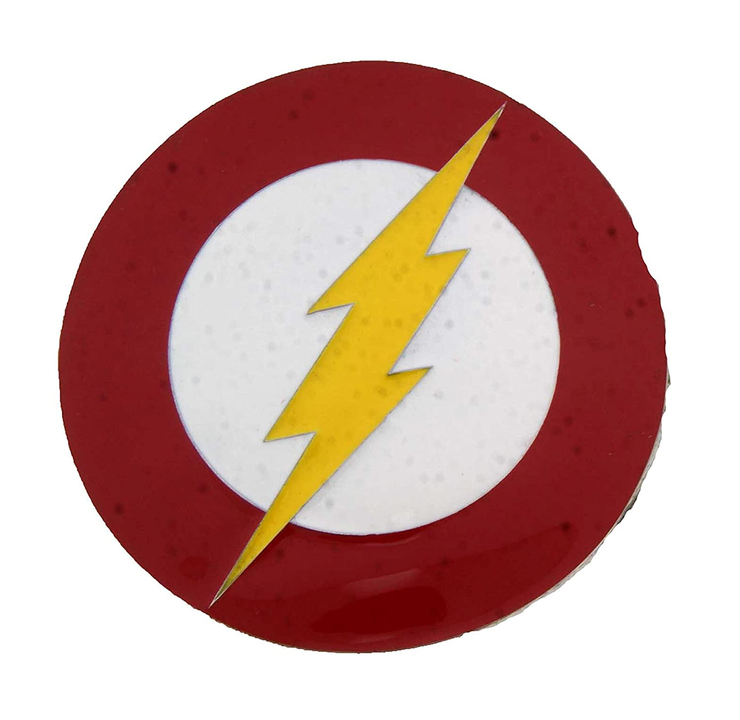 Amazoncom Officially Licensed Flash Dc Comic Logo Oval Shape Belt