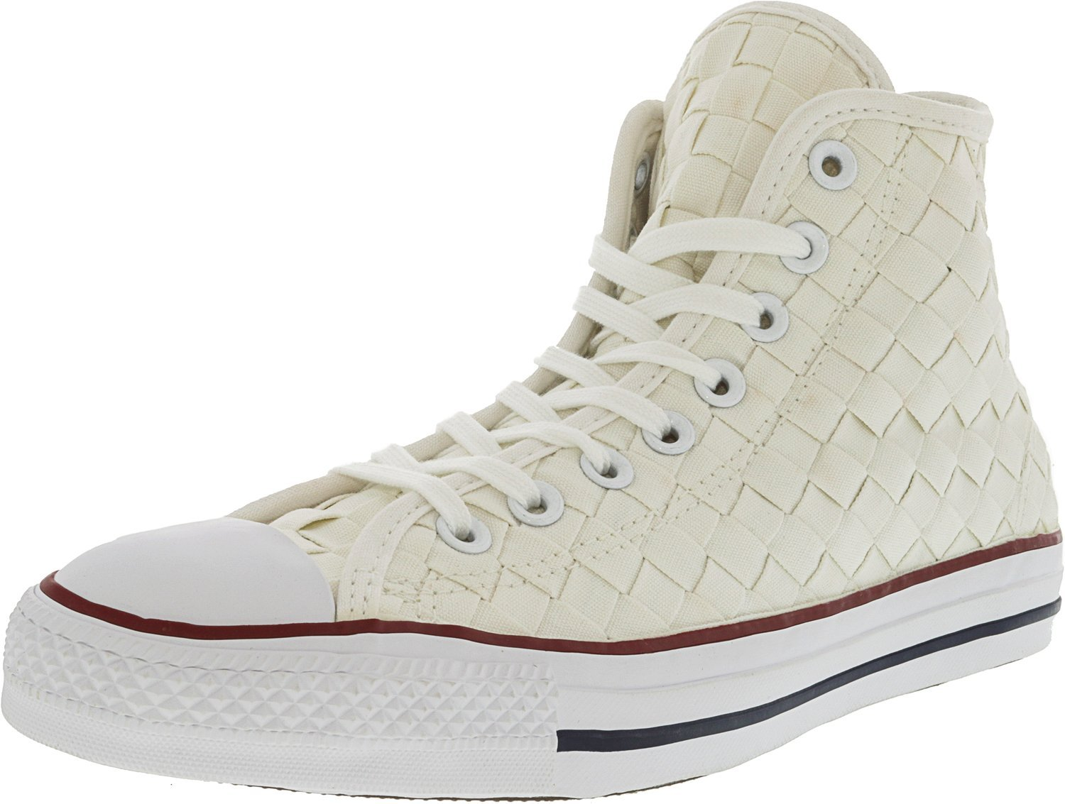 Converse Chuck Taylor All Star Core Hi B01F5H2UC8 9.5 M US Women / 7.5 M US Men|White / Red / White