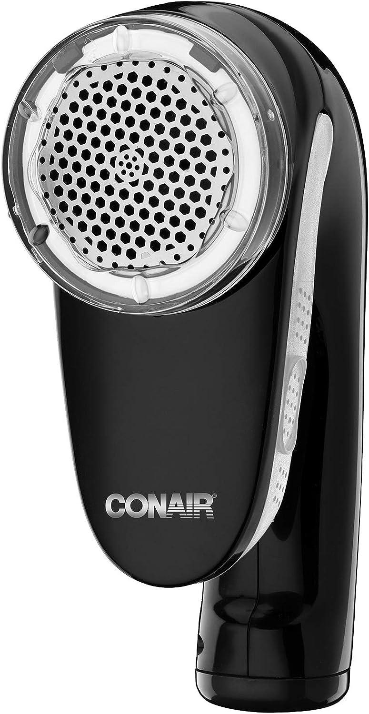 Conair Fabric Defuzzer-Shaver Rechargeable, Black