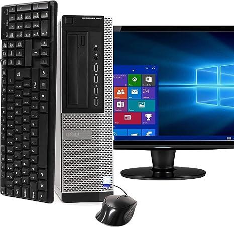 Amazon Com Dell Optiplex 990 Sff Pc Intel Core I5 Processor 16gb Ram 2tb Hdd Dvdrw Keyboard Mouse Wi Fi Bluetooth 4 0 Windows 10 Home 20in Lcd Monitor Renewed Computers Accessories