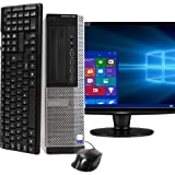 Dell Optiplex 990 SFF PC, Intel Core i5 Processor, 16GB RAM, 2TB HDD, DVDRW, Keyboard & Mouse, Wi-Fi, Bluetooth 4.0, Windows