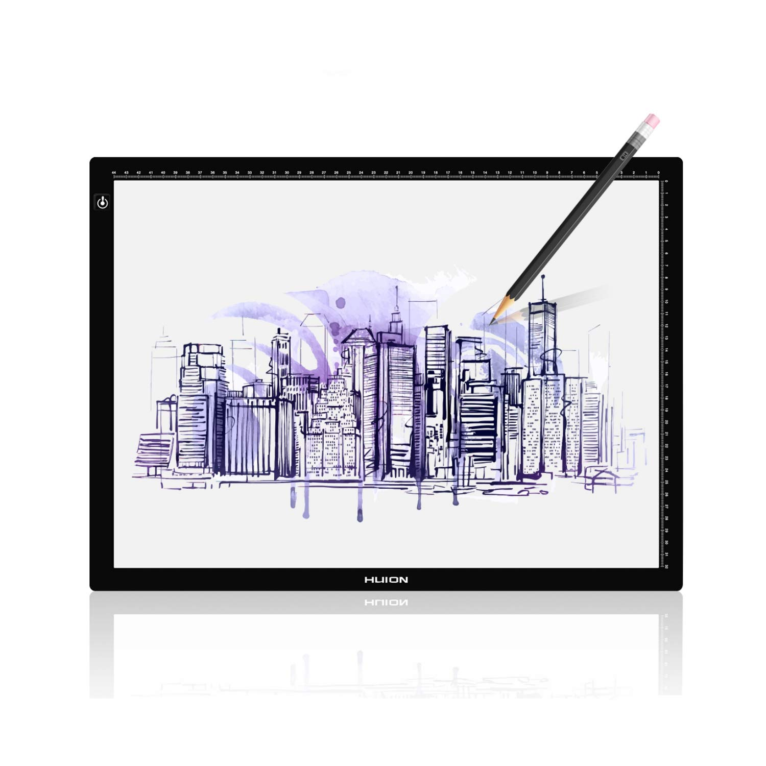 Huion LA3 Portable USB LED Tracing Light Box Dimmable Brightness Tatto Light Pad by HUION