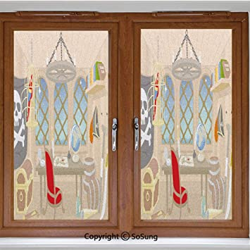 CGSignLab Please Come Again Classic Navy Window Cling 5-Pack 12x12