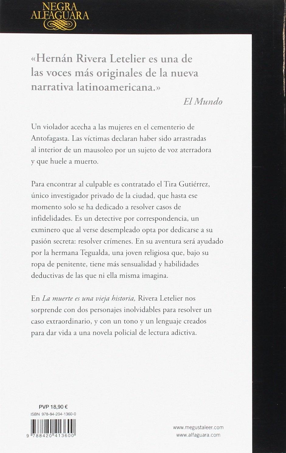La muerte es una vieja historia (ALFAGUARA NEGRA): Amazon.es ...