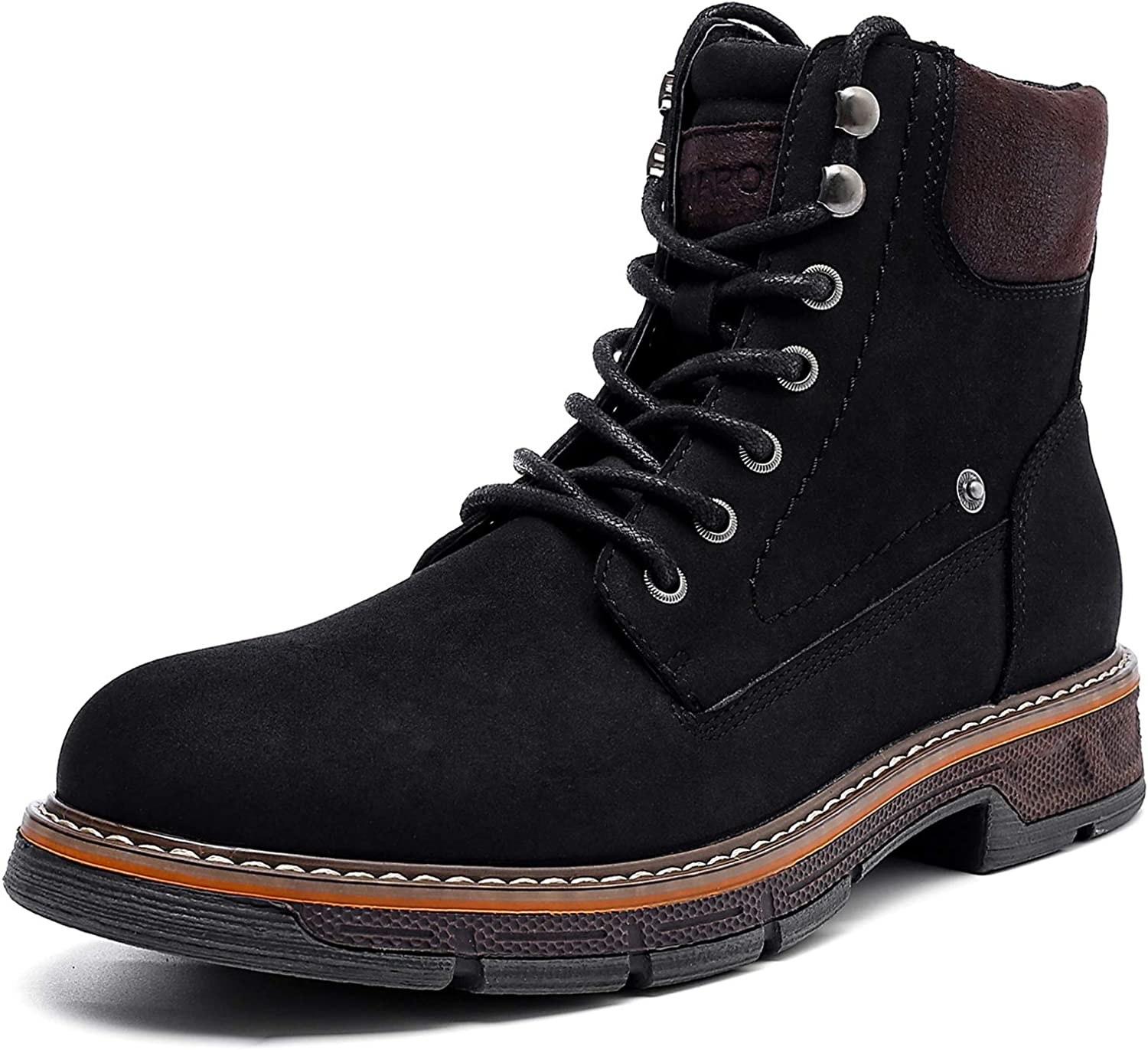 AMAPO Chukka Boots Mens Mid Large special price Men Breathab Ankle Gifts for Outdoor