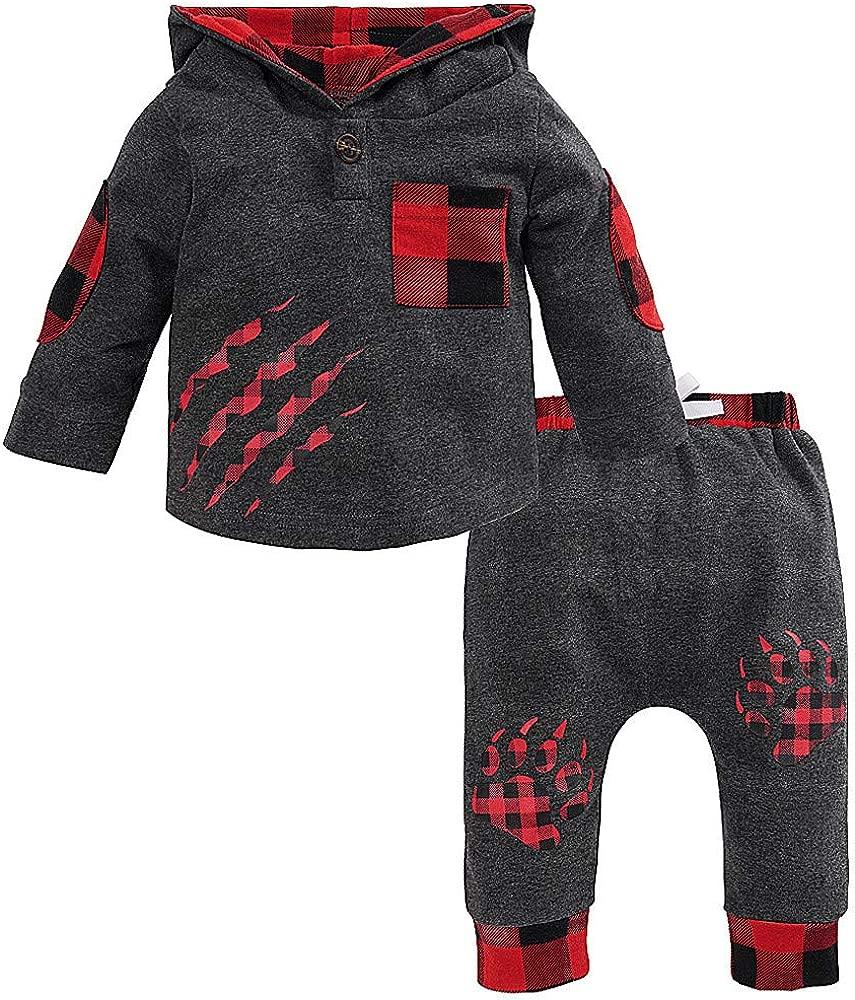 Amazon.com: Sameno - Conjunto de ropa para recién nacido, a ...