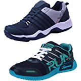 Super Men Combo Pack of 2 Sports Running Shoes