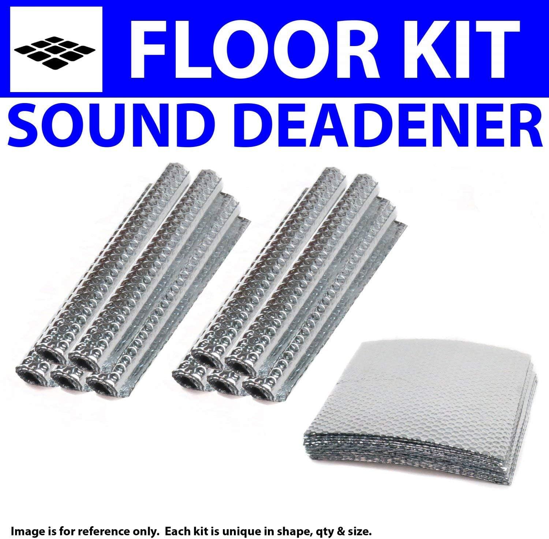 for 91-00 VW ~ Floor Kit Zirgo 314613 Heat and Sound Deadener