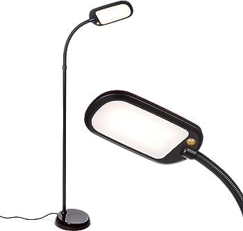 Brightech Litespan Slim - LED Reading & Craft Floor Lamp