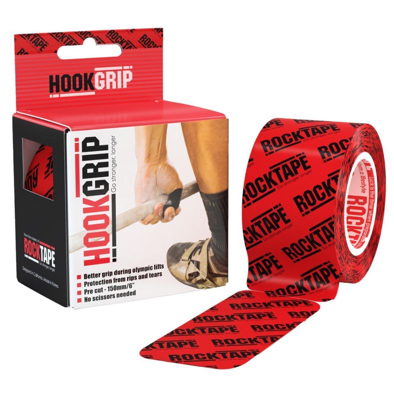 Rocktape Rockband –  Pilates elastischem Band, Schwarz, Medium RCT100-HOOK-OS