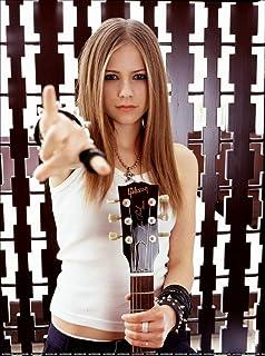 Avril Lavigne (14inch x 19inch / 35cm x 47cm) Silk Print Poster - Silk Printing - 3BA062