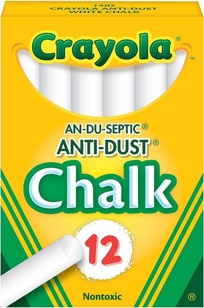 Blackboard Eraser iFCOW Chalks Sticks Chalk Cover 120pcs Chalk Sticks Set Dustless Chalks Sticks