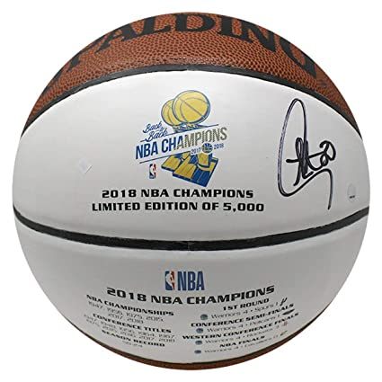 a8b0d5a57aef Image Unavailable. Image not available for. Color  Stephen Curry  Autographed Signed Golden State Warriors 2018 Commemorative Nba Champions  White ...