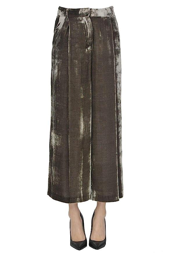 new arrival a875c 4efb0 KILTIE - Pantaloni - Donna Marrone L: Amazon.it: Abbigliamento