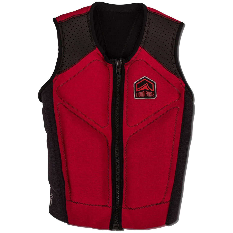 Liquid Force 2019 Watson (Red) Comp Vest-XLarge by Liquid Force