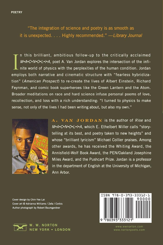 Quantum Lyrics: Poems: A. Van Jordan: 9780393333121: Amazon.com: Books