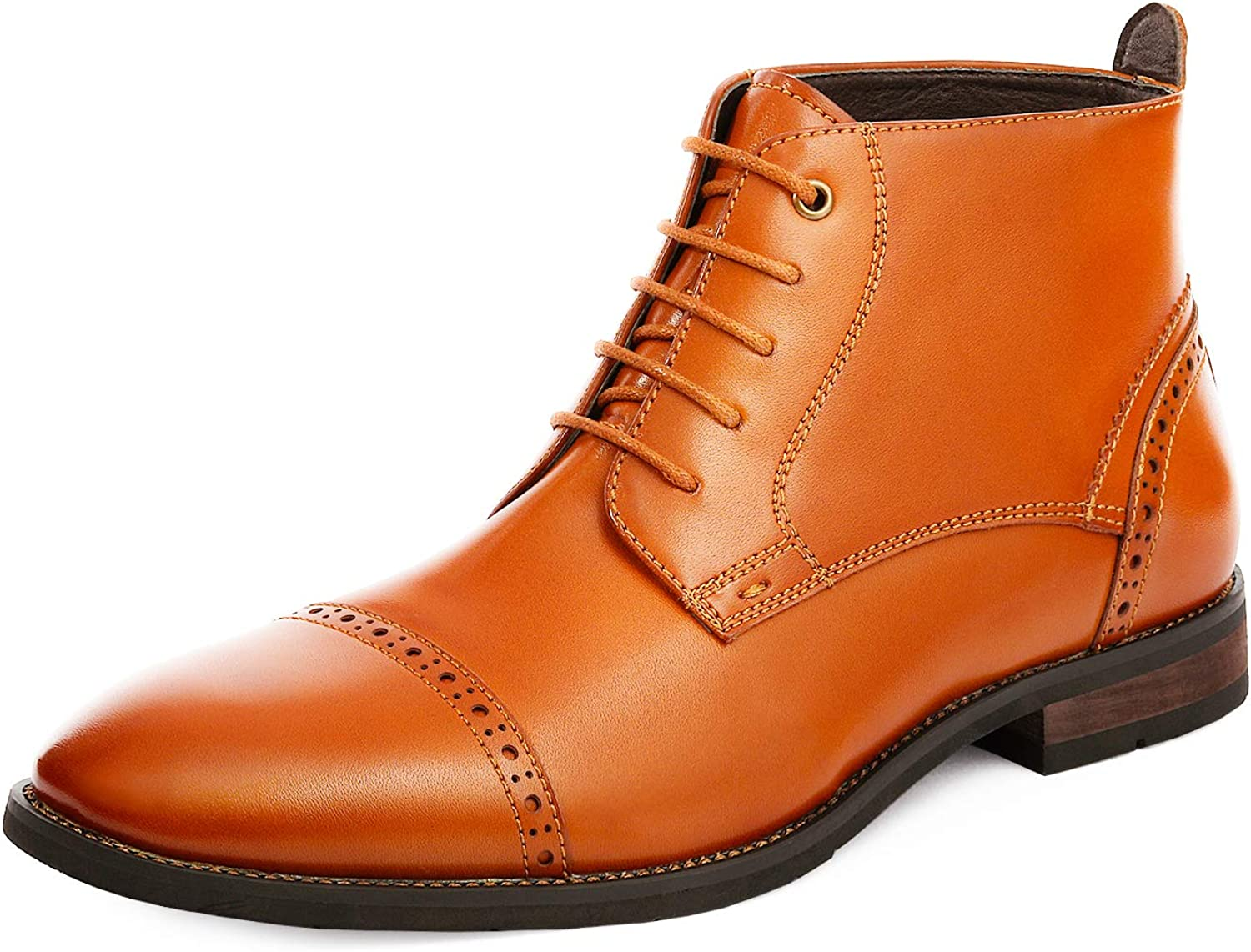   Bruno Marc Men's Dress Ankle Boots Cap Toe Oxford Boot   Oxford & Derby