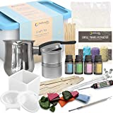 Candle Making Kit – Wax and Accessory DIY Set for The Making of Scented Candles - Easy to Make Colored Candle Soy Wax…