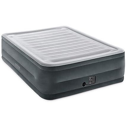 Amazon Com Intex Comfort Plush Elevated Dura Beam Airbed With
