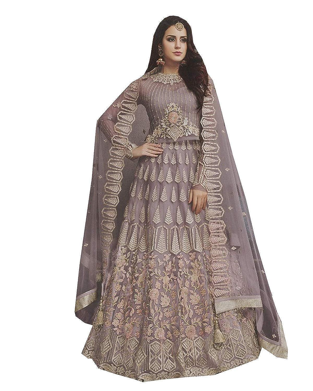 Purpal stylishfashion Bollywood Designer Pakistani Indian Wedding Party Wear Choli Style Salwar Kameez Ready to Wear Salwar Suit