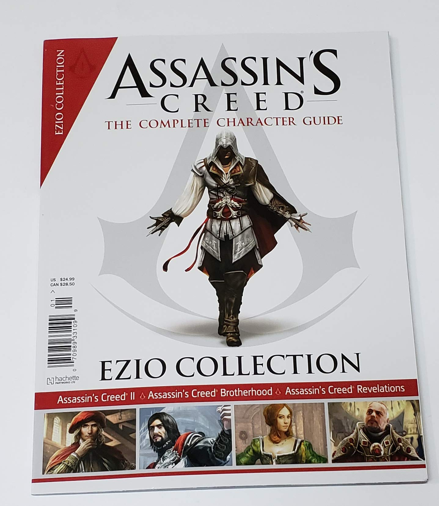 Assassin S Creed The Complete Character Guide Ezio Collection