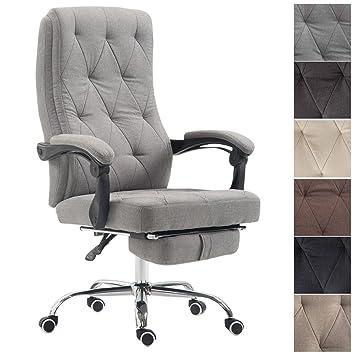 CLP Chaise De Bureau Gear Ergonomique En Tissu