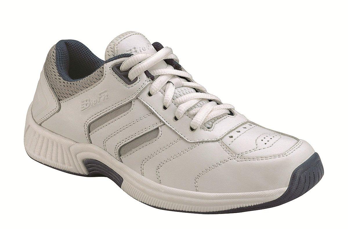 Orthofeet Whitney Comfort Wide Orthopedic Orthotic Diabetic Walking Womens Sneakers White Leather 10 XXW US