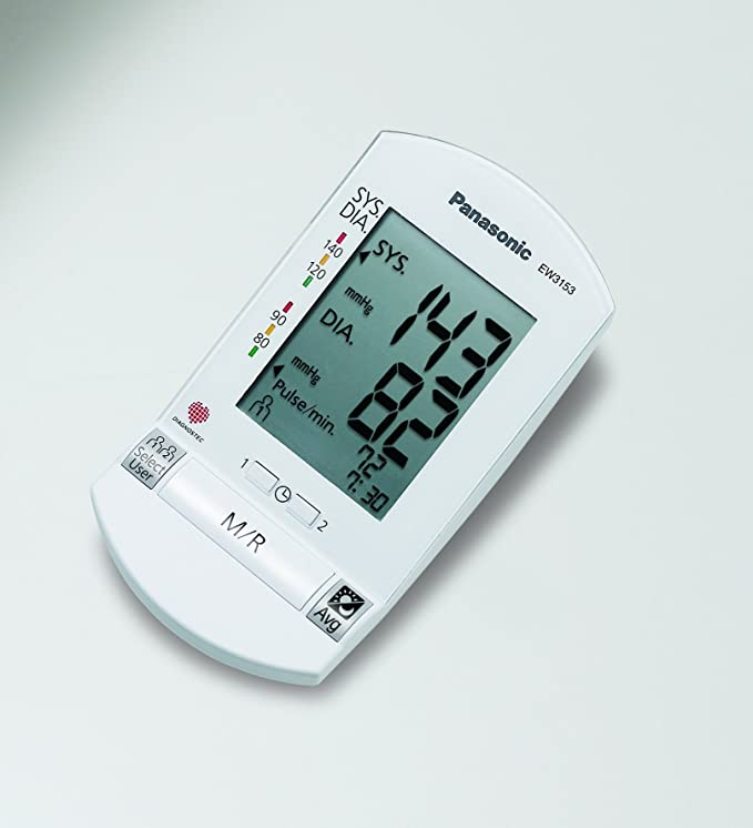 Panasonic EW3153W, 6 V, 82.55 x 295.275 x 282.57 mm, 1546.75/154.2 g - Tensiómetro: Amazon.es: Salud y cuidado personal