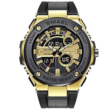 Blisfille Reloj Hombre Digital Reloj con Engranajes Que Se Vean Relojes Digital para Mujer Relojes Digital Resistente Al Agua Reloj Digital Joven: ...