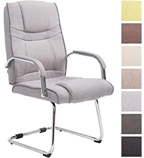Besucherstuhl Schreibtischstuhl Chef Sessel 2 x ESTEXO/® B/ürostuhl Kunstleder Meetingstuhl