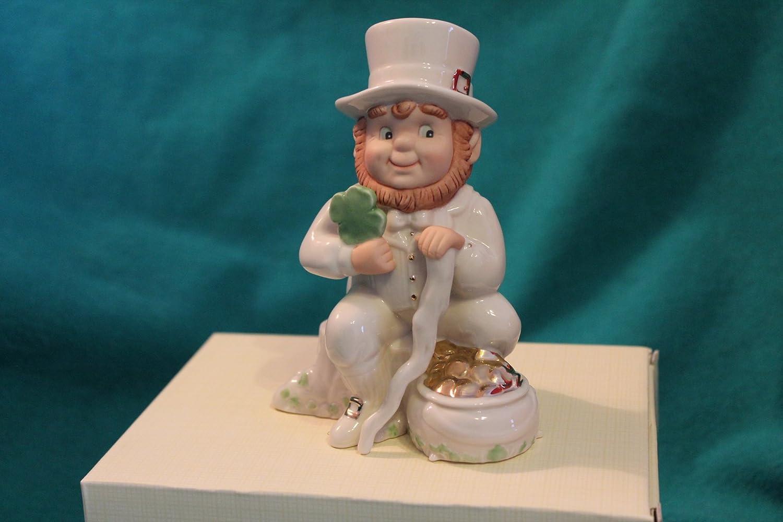 "Detailed /& Colorful Free Shipping Jim Shore Mini Leprechaun 4/"" Tall"