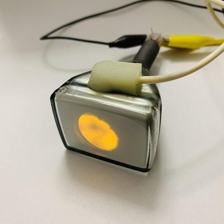 Mini indicador de tubo de TV CRT de color amarillo raro 6LM4S NOS: Amazon.es: Hogar