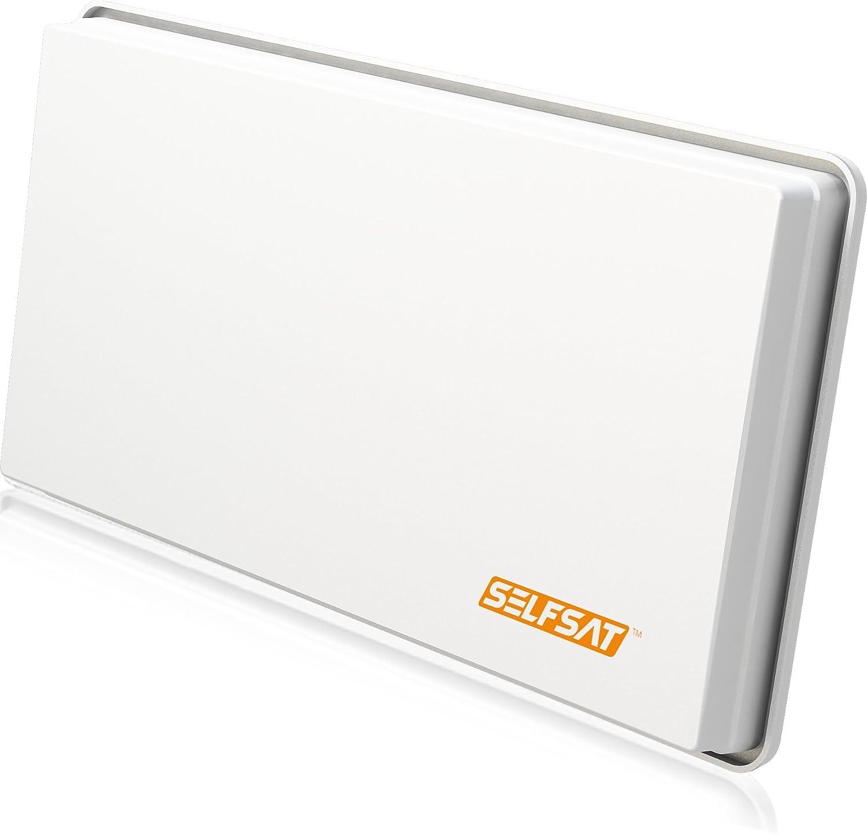 Selfsat Selfsat-H30D4 - Parabólica, blanco 67425-GB