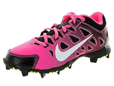 promo code b29fc 5957c Amazon.com   Nike Girl s Hyperdiamond Keystone GS Softball Cleat Digital  Pink Black White Size 6 M US   Softball   Baseball