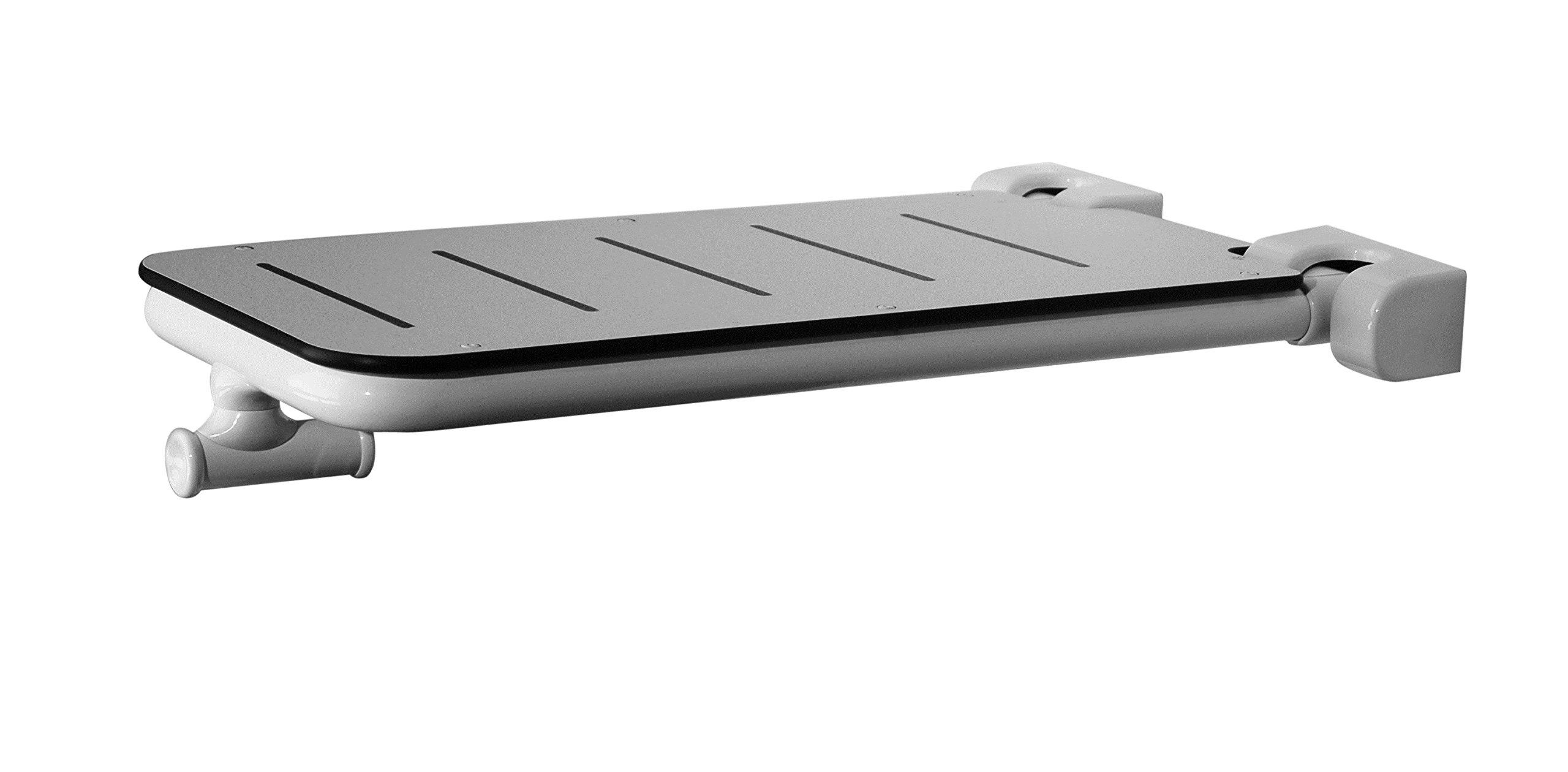Ponte Giulio Folding Tub Bench (Contractor Series) (White, 18 3/4'' x 31 1/8'' x 5 1/8'')