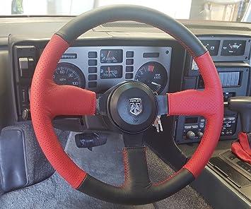 Pontiac Fiero 1984 - 88 bedeckung en el volante redlineg Ecomoods: Amazon.es: Coche y moto