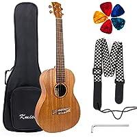 Ukulele with Bag Strap Ukulele picks From Kmise (Baritone, Acoustic)