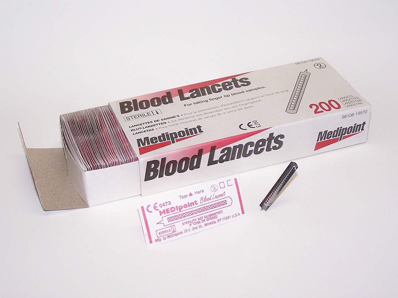 Stainless Steel Lancet