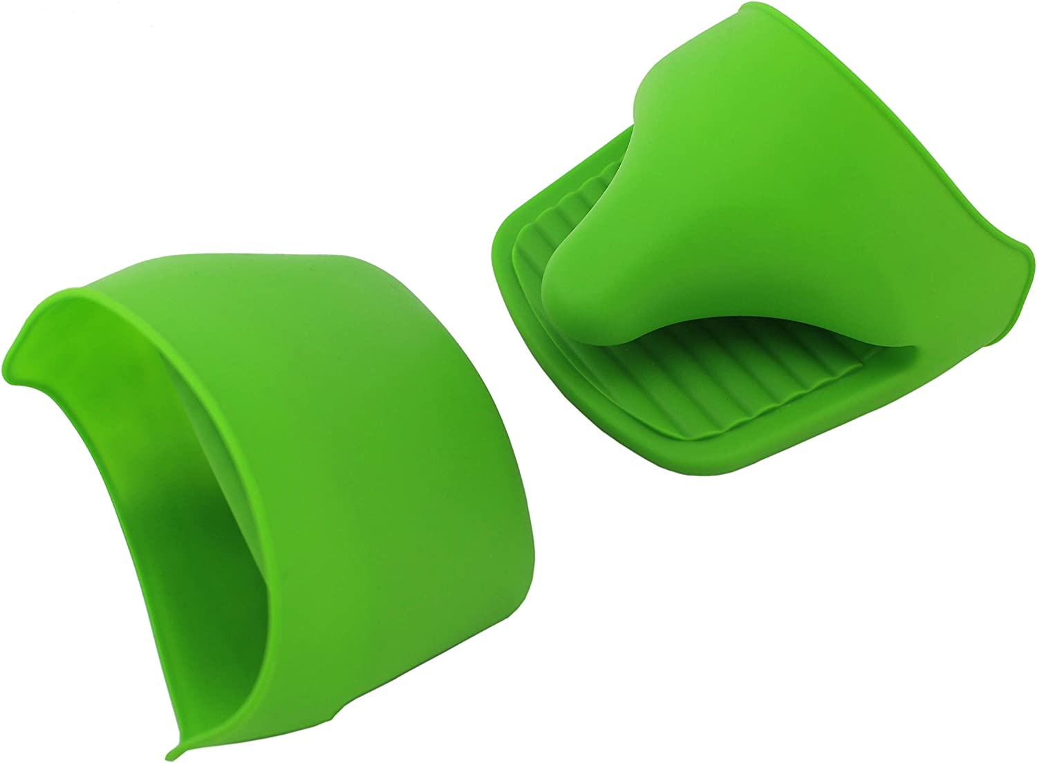 /… Set of 2 Green VINSTAR Silicone Mini Oven Mitts//Gripper