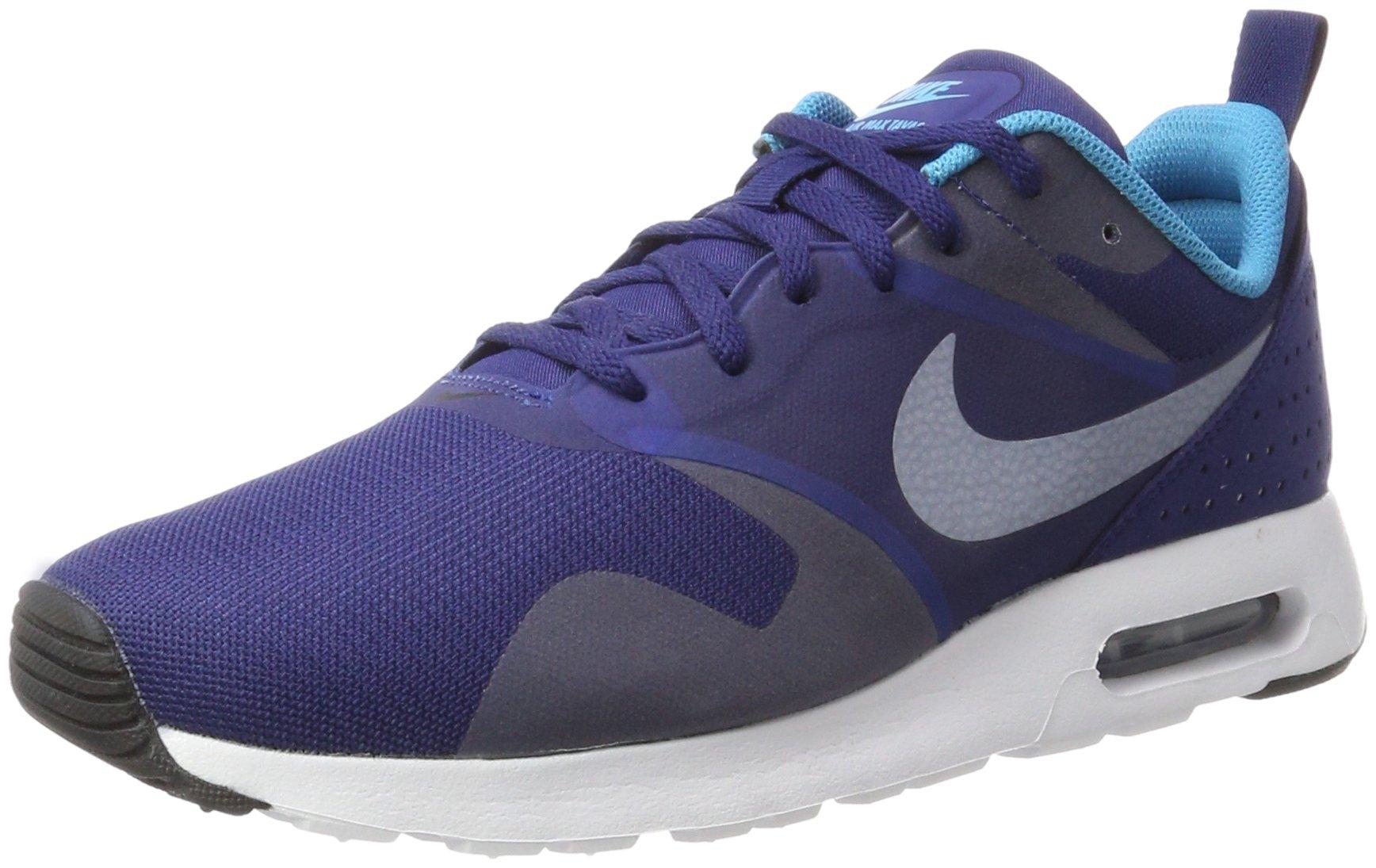 best sneakers 8277c 33c1e Galleon - Nike Men s Air Max Tavas Loyal Blue White Blue Lagoon Black Shoes  - 9 D(M) US