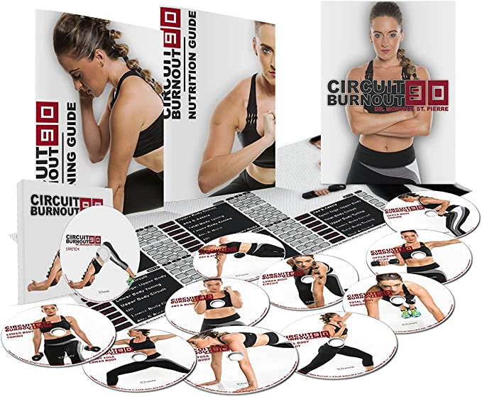 X Trainfit 90 Day DVD Workout Exercise Videos