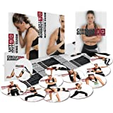 Circuit Burnout 90: 90 Day DVD Workout Program with 10+1 Exercise Videos + Training Calendar, Fitness Tracker &Training Guide