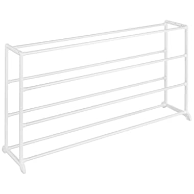 Whitmor 4 Tier Floor Shoe Rack - 20 Pair - Storage Organizer