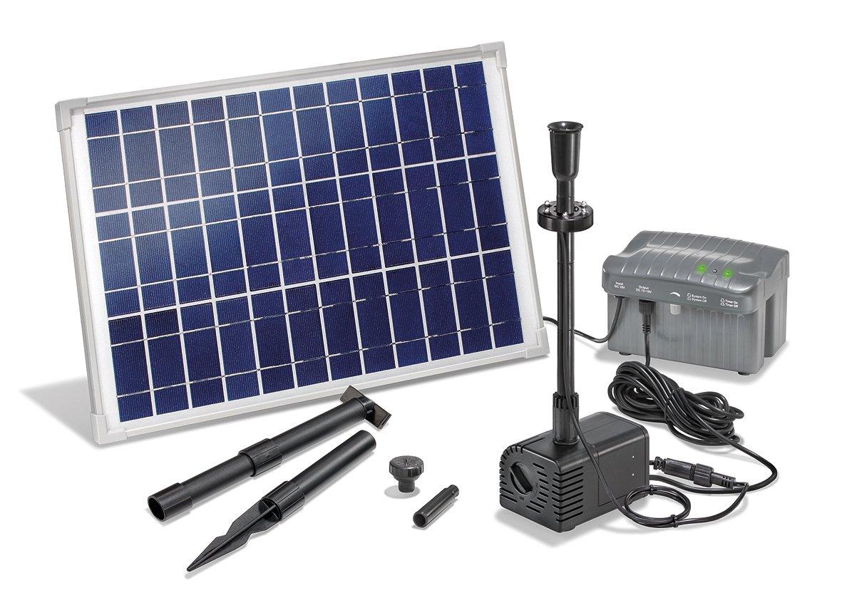 Kit pompe jet d eau solaire Siena LED Siena Plus 551149