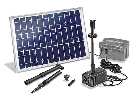 Kit pompa solare con illuminazione con batteria tampone lh