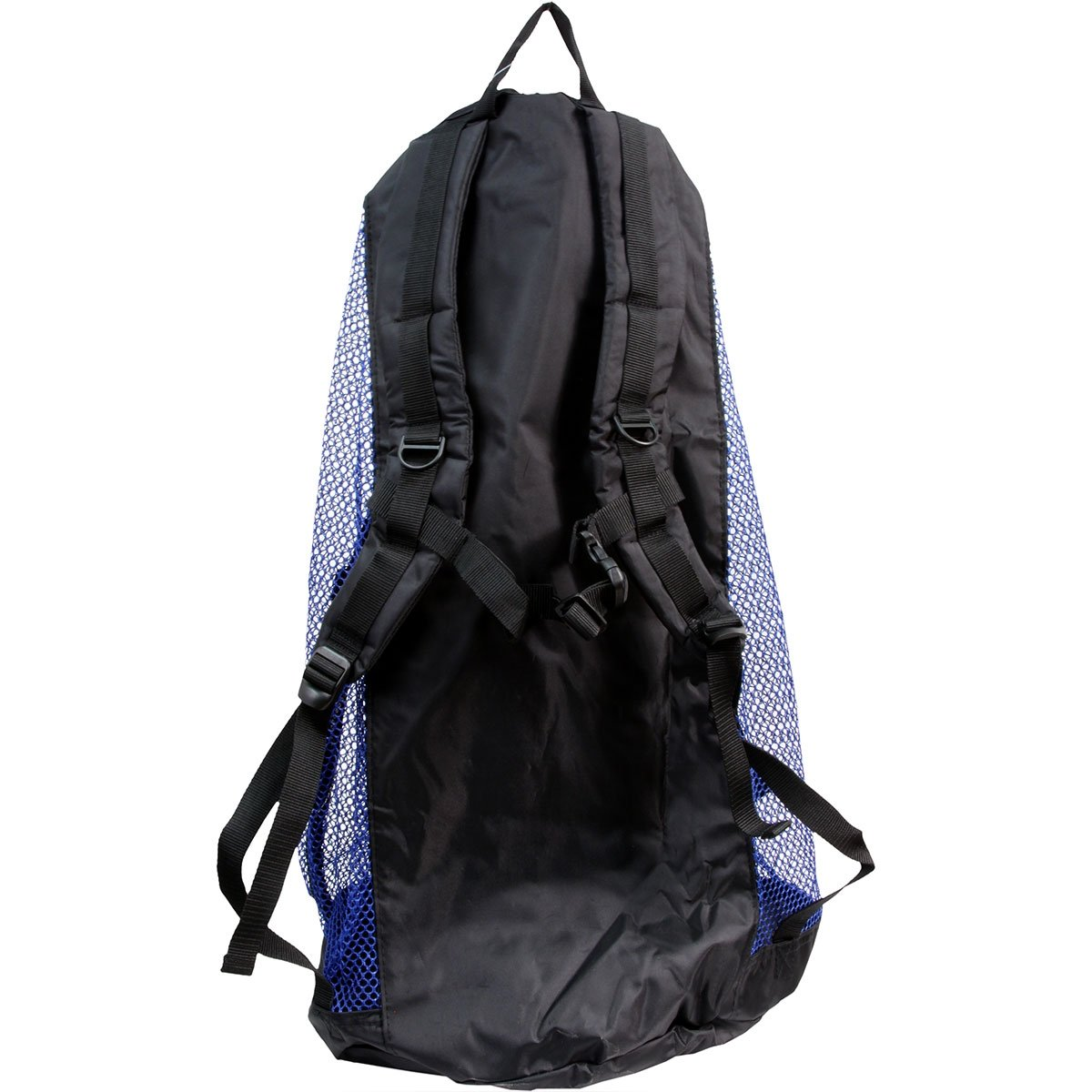 Armor Heavy Duty Nylon Mesh Backpack (Blue) Perfect for Diving or any beach/boating trip