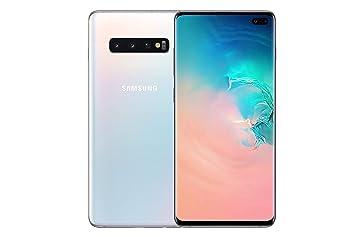 Samsung Galaxy S10+ 128 GB Dual-SIM Android Smartphone - White (UK Version)