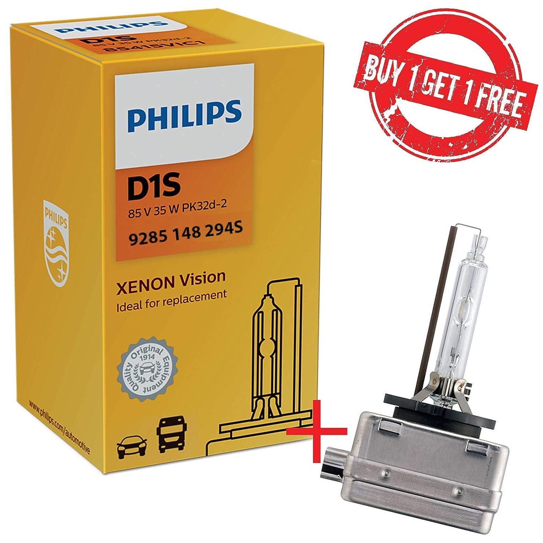 lampada a scarica scatola bianca OFFERTA LIMITATA OEM di qualit/à dellattrezzatura originale Philips 9285 148 294S D1S XenStart HID Lampadina a scarica allo xeno 1 omaggio 1 pezzo