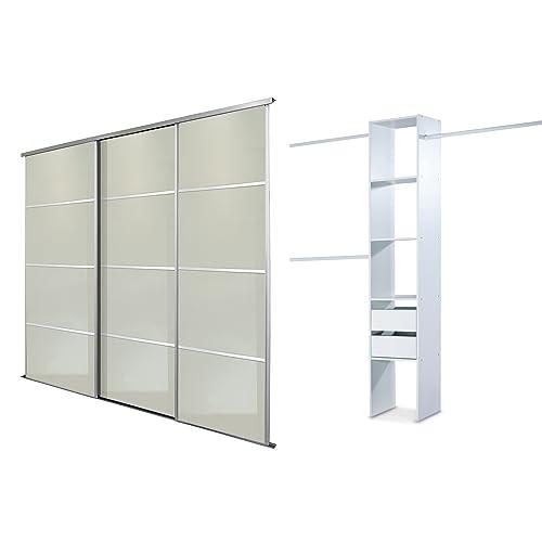 Glass Sliding Wardrobe Doors Amazon