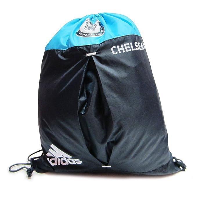 Amazon.com  Adidas Chelsea FC Sackpack (one size)  Clothing c3c57b5fc9ba2